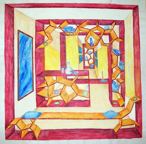 mappenvorbereitung im atelier der k 252 nste. Black Bedroom Furniture Sets. Home Design Ideas